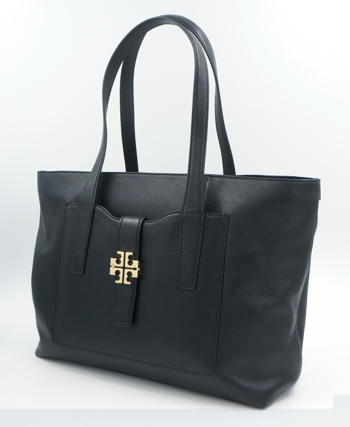 tory burch tasche handtasche leder schwarz uvp. Black Bedroom Furniture Sets. Home Design Ideas