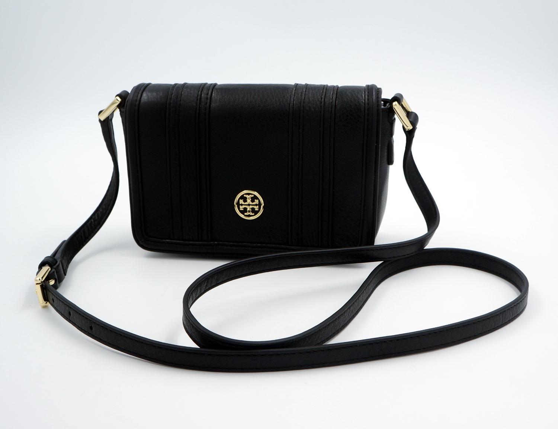 tory burch schulter tasche handtasche leder schwarz uvp 300euro neu ebay. Black Bedroom Furniture Sets. Home Design Ideas