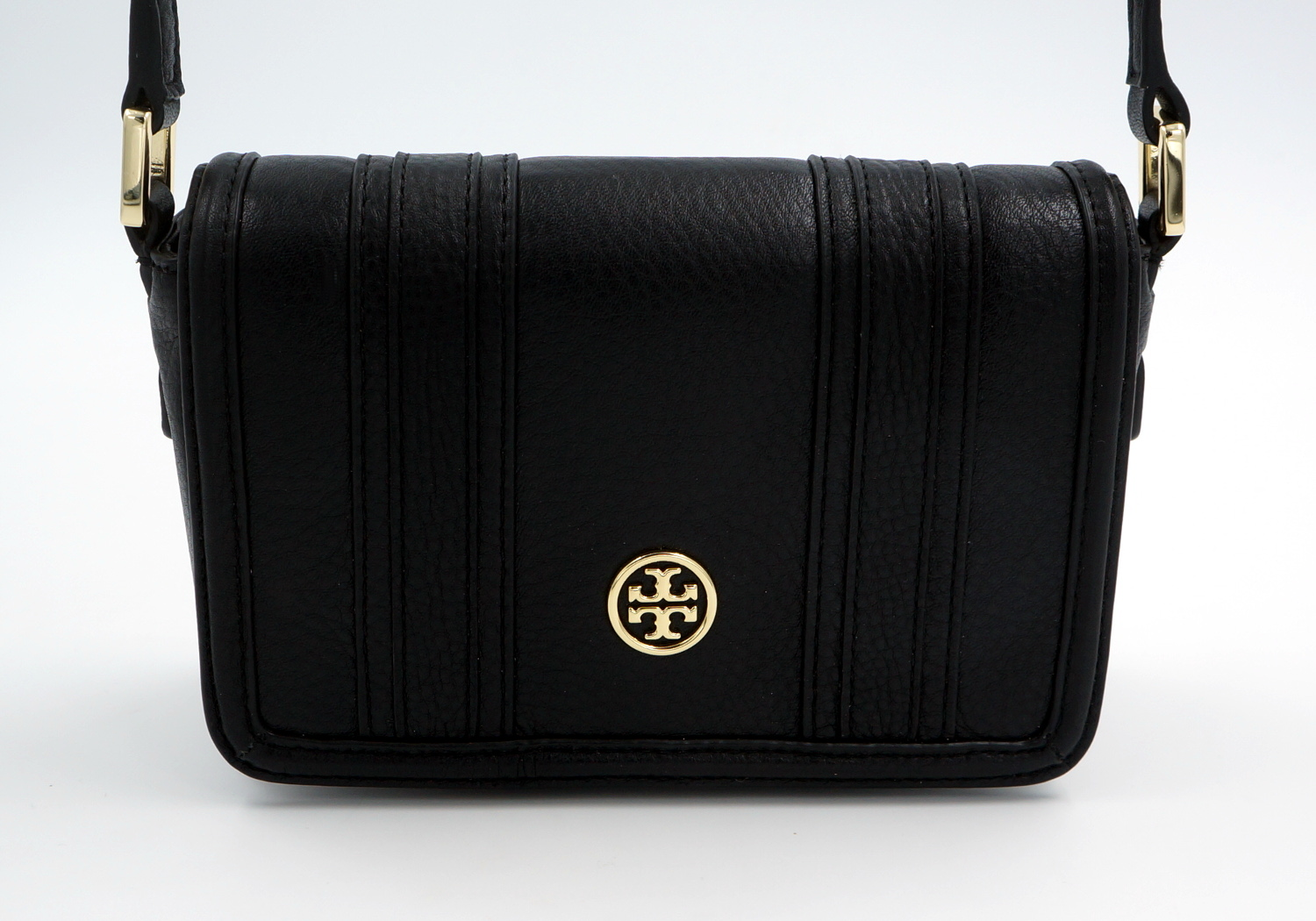tory burch schulter tasche handtasche leder schwarz. Black Bedroom Furniture Sets. Home Design Ideas