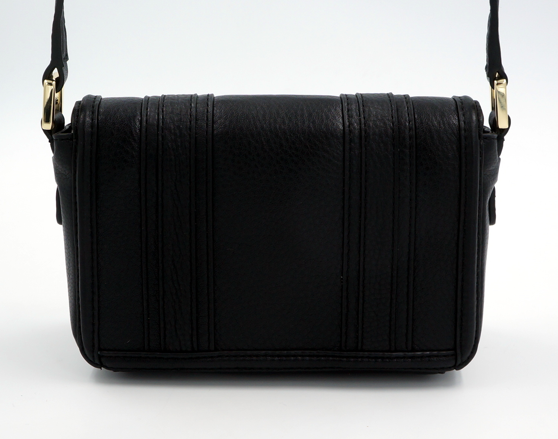tory burch schulter tasche handtasche leder schwarz uvp 300euro neu. Black Bedroom Furniture Sets. Home Design Ideas